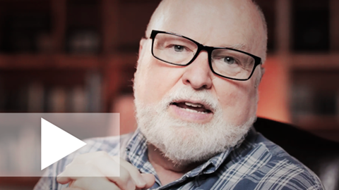 An image of Richard Rohr speaking in his chair about the 2019 Daily Meditation Theme. The image links to a video.
